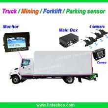 12~24V DC Bus/Forklift/Mining/Truck car lcd parking sensor system