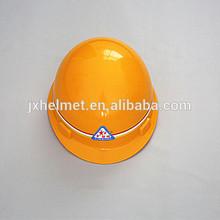 PP yellow plastic hard hats