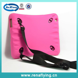 Wholesale Shockproof case for ipad mini case, for ipad mini hybrid case with hanging belt