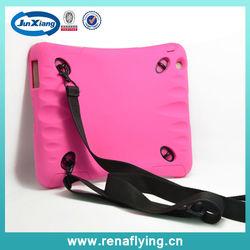 Wholesale Shockproof case for ipad mini case, for ipad mini hybrid case with hanging belt