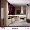 Pvc Finish pre assembled kitchen c home furniture manufacture