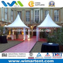 4mX4m White Aluminum PVC Pagoda Tent For Festival Hall