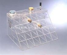 Clear Acrylic Makeup Lipstick Holder / Organizer