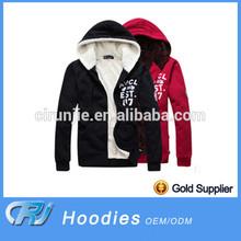 2014 wholesale high quality men's plain hoodies