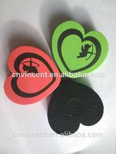 heart shaped white board cleaner board eraser