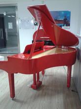 Digital Piano Factory 88 keys Touch Sensitive Hammer Keyboard MIDI Red Polish Grand Piano HUANGMA HD-W100 digital upright piano