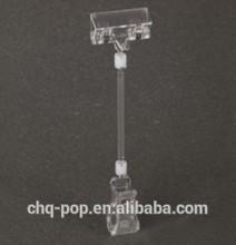 HOT SALEAS Plastic pop clip with metal spring