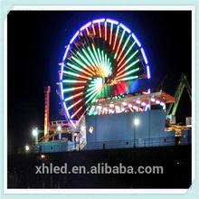 Eye catching ferris wheel with rgb led pixel light Mirecale Bean 6G