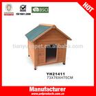 Luxury dog wooden house, dog wooden house