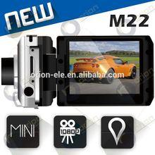 mini F900 Car digital camera 1080p GPS G-Sensor 2.0inch car dash camera with gps DVR-M22