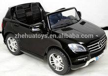 Mercedes Benz License Ride on Car 12V Kids Electric Car Baby Toys Black Color