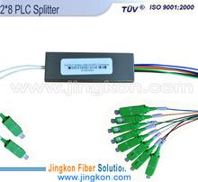 2*8 PLC optical fiber splitter chip