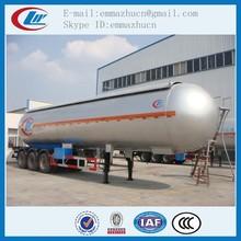 chengli factory supply lpg liquid asphalt tanker trailer for sale
