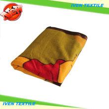 warm & comfortable fashion design 100% Polyester polar fleece blankets