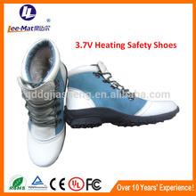 Lee-mat mature rubber boots women,winter heated women shoes,foot warmers shoes for women