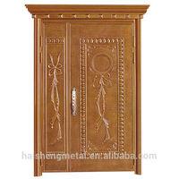 Painting metal door frames / High Quality mother son doors