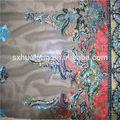 la red de negro bordado decorativo indio las fronteras de tela