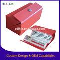 de luxe sur mesure magnétiques lamination de papier boîte de cadeau en carton