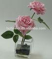 imitación de la decoración de flores color de rosa