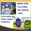 Oem de leche de cabra sabor/bebida de sabor de la empresa