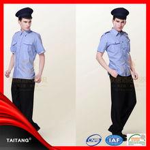 Alta calidad 2014 de la venta caliente de seguridad con estilo uniformes de guardias
