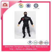 hot sale pvc ninja warrior toys action figure for kids wholesale