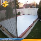 hdpe plastic polyethylene sheet synthetic ice rink uhmwpe Hockey rink boards factory
