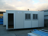 Prefabricated house 20-180 m2 with steel chassis exported to Australia