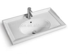 XB-G015 vanity sink porcelain sinks top mount vanity sinks