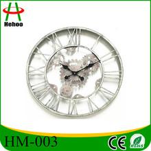 metal gear wall clocks