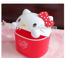 [Hot saleheat transfer film printing on plastic basket China manufacturer free design