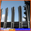 High quality PVC coated steel palisade fence CE, SGS, ISO, BV 30 years' experience factory