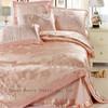 Home textile sateen 4pcs Bedding European lace cotton jacquard wedding bedding