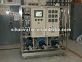 Pequenas da água do mar dessalinização equipamentos para barcos de pesca, a cidade costeira de uso