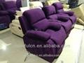 De control eléctrico sofá de la tela/moderna colorida sofás