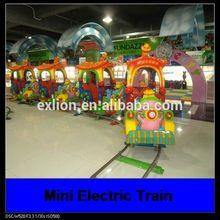 2014 christmas funny children ride electric mini train