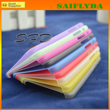 high quality PC hard smart phone case for iphone 6 hard pc material phone case