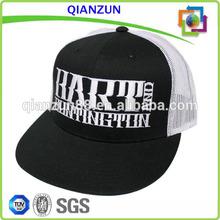 Mesh Trucker Caps /Embroidery Mesh Hats /Plain Black Mesh Snapback Hats