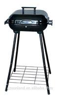 14'' extra high novelty rectangular bbq grill