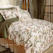wholesale The new cotton Spring and summer cotton activity Printed 4pcs Bedding Set