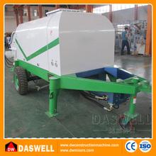 Isuzu daewoo concrete pump truck god quality junjin concrete pump truck