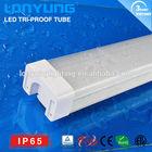 50/60W 1.5m/5ft LED Tri-proof tube lamp IP65 CE SAA ETL TUV Lonyung waterproof led light oem led lights & lighting hong kong led