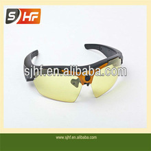 The Best price factory sell 1080P mini sunglasses camera dvr with remote control TV OUT HDMI