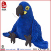 OEM Best Selling Stuffed Bird Real Plush Soft Parrot