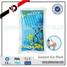 Plastic ice cube pack