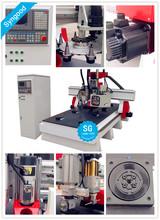 One time finish Milling Engraving Cutting no need operator SG1325 ATC -atc wood cnc