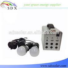 led lighting and mobile charging home solar light kit