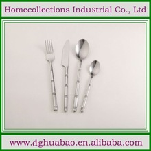 2014 Cheap disposable cutlery fork corn starch