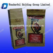 Hot Selling Coffee Packaging Bag/ Coffee Bag with Tin Tie/Kraft coffee packaging Bags