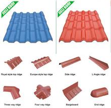 roof tile edging ridge cap